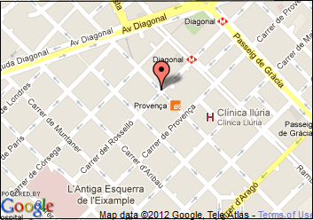 Map EUCEN office location